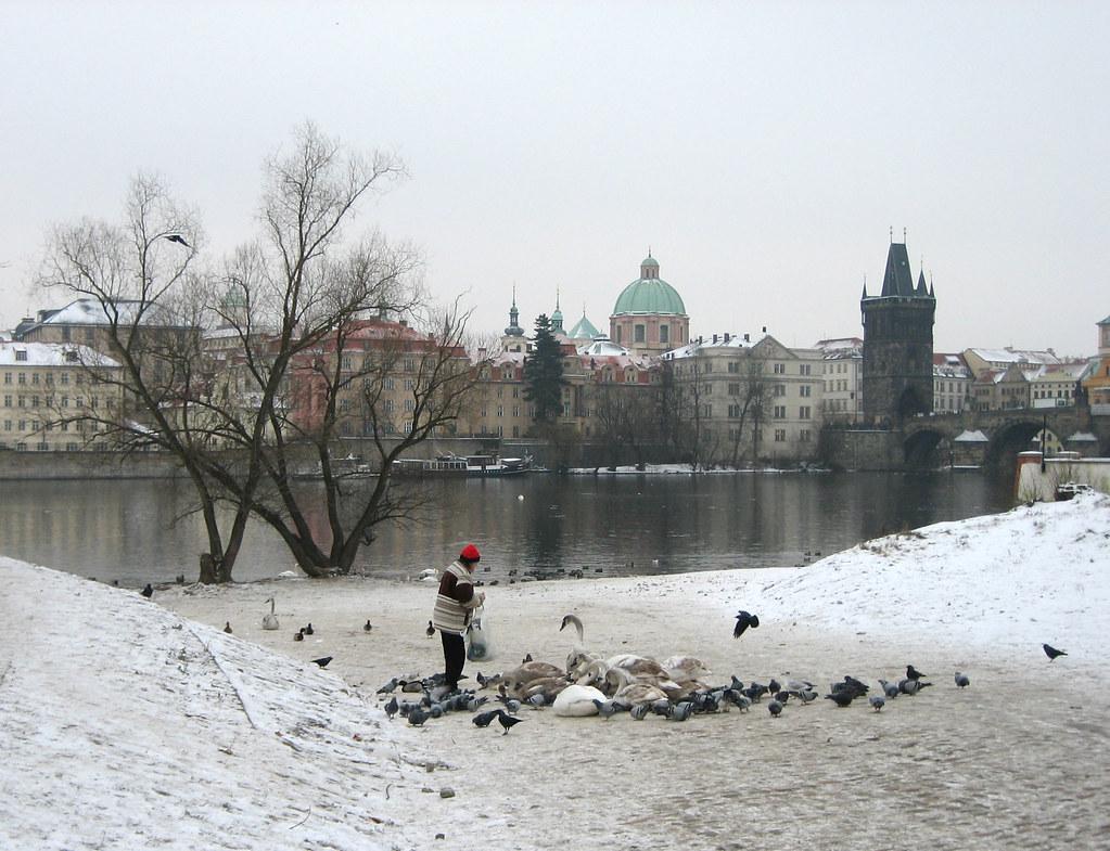 River Vltava and Prague