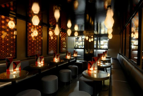 Inamo restaurant bar interior architects design by for Bar and restaurant interior design ideas