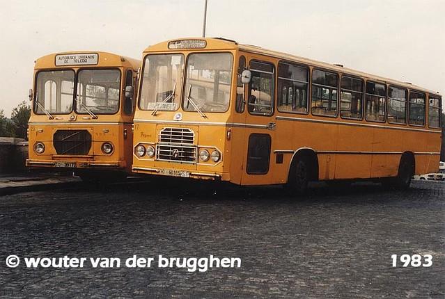 Katangas de Toledo en 1983. Foto Wouter Van der Brugghen