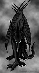 symmetry, wing, sketch, monochrome photography, fictional character, drawing, dragon, monochrome, illustration, black-and-white,