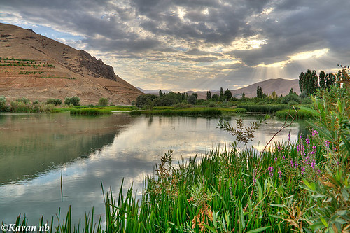 sky cloud mountain lake reflection grass canon landscape spring iran sigma iranian 1770 hdr sunray kurdistan sanandaj kavan 400d vosplusbellesphotos kordetsan
