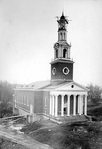 Construction of Memorial Hall