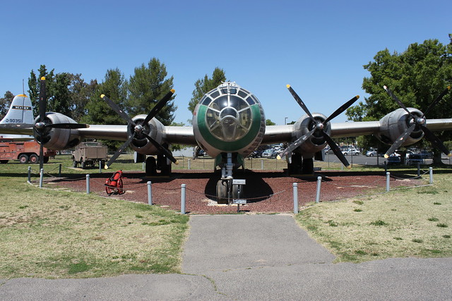 Front: Boeing B-29A Superfortress