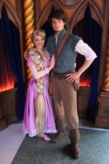 Meeting Rapunzel Amp Flynn Rider Flickr Photo Sharing