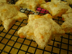 Finished Star Scones