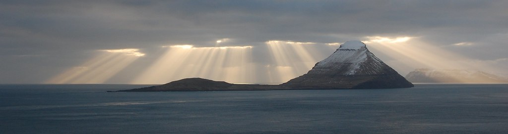 Sunrays Behind Koltur