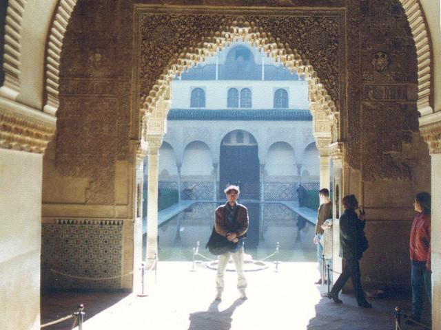 Dave in Alhambra