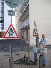L'exposition panneaux Pierre Marcel weekend du 23 juin 2007 - Photo of Mantes-la-Jolie