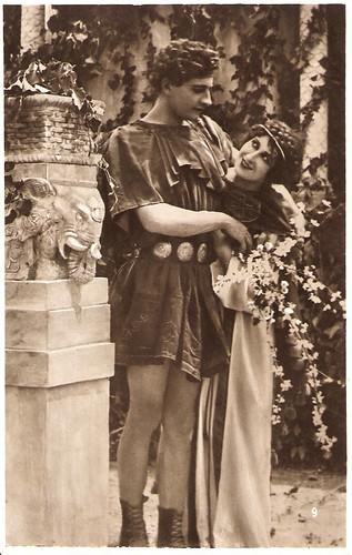 Rita Jolivet and Ferruccio Biancini in Teodora (1921)