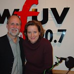 Susan Werner at WFUV with John Platt