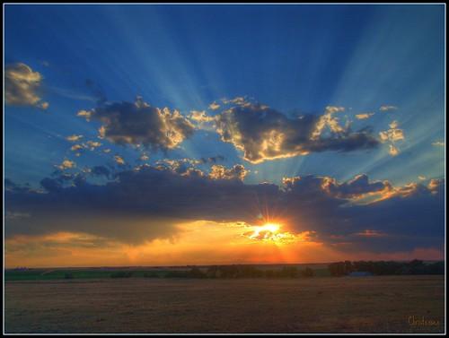 sunset sky cloud sunrise colorado sony rays thunder mikechristensen spoiler3