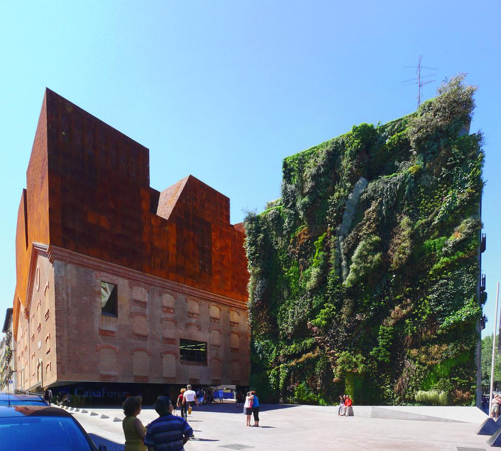 Herzog de meuron caixa forum madrid a photo on for Herzog de meuron madrid