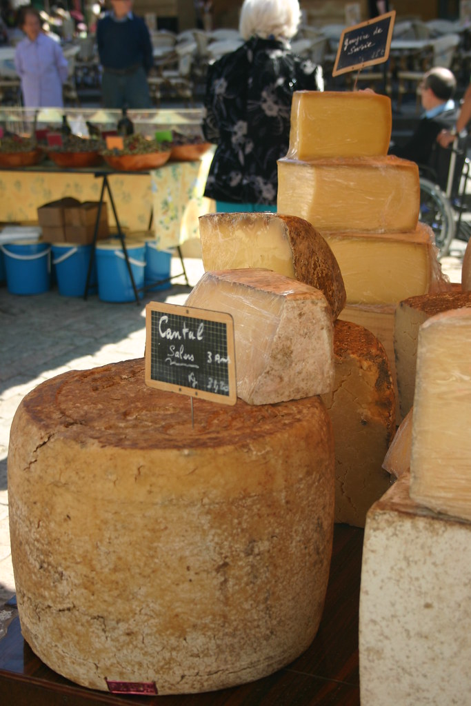 More cheese than you can eat at the Dordogne markets