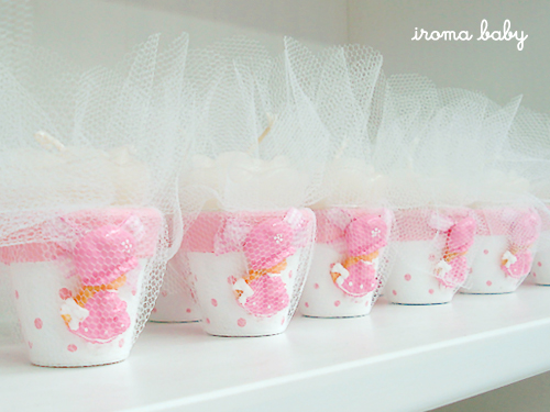 Lembrancinhas de nascimento velas flutuantes | Birth souvenir floating candles