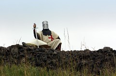 Knight at Peveril Castle 1