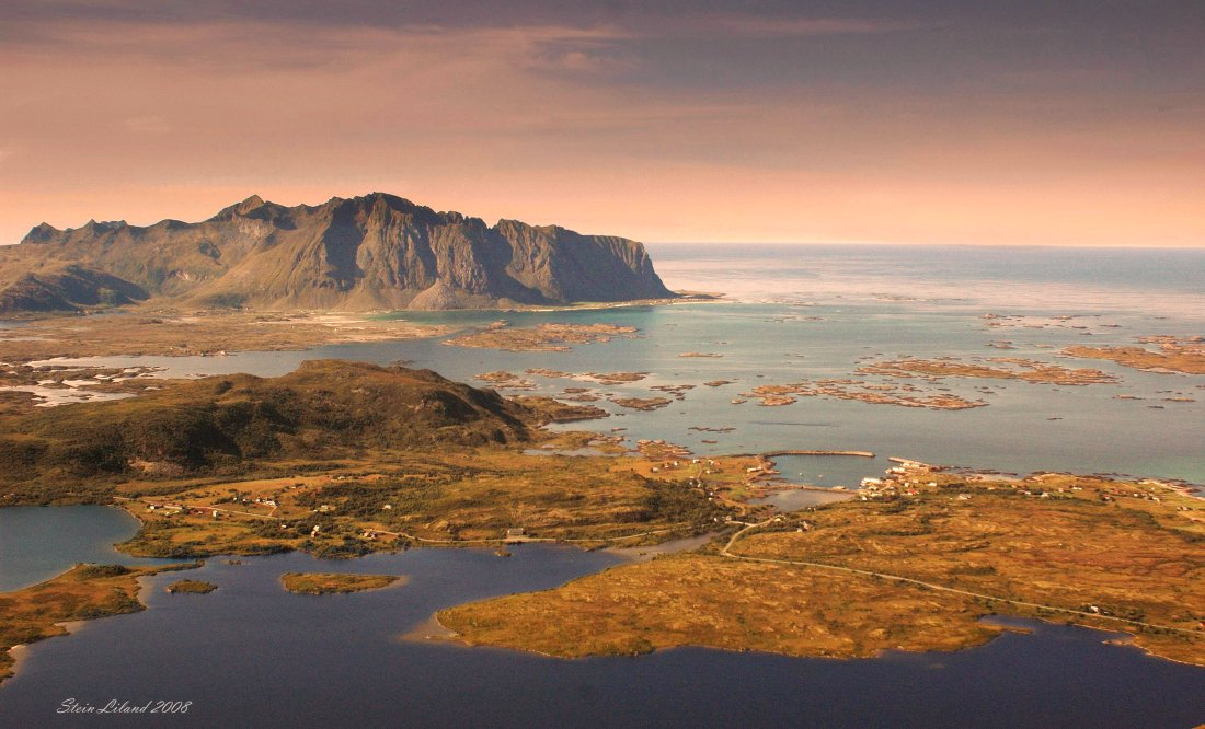 Part of Vestvågøy island, Lofoten