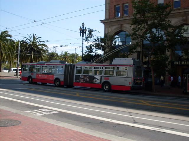 MUNI bus in San Francisco Flickr