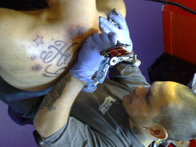 Hollywood Mark Mark Favela Tattooing Selwyn Mister