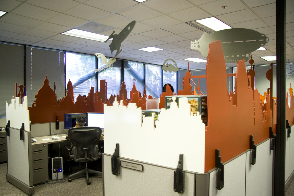 Cities Of The Future Office Interior Design And