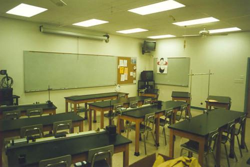 High School Physics Classroom Design ~ Rosati kain high school inside out architecture
