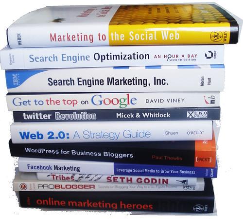 Livros de Redes Sociais, SEO e Web 2.0 by marciookabe