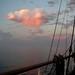 Seamans at sunset