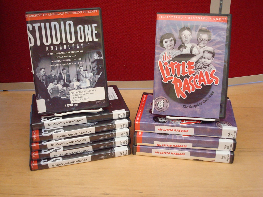 Series DVDs December 2008