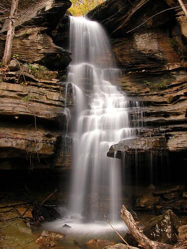 water creek waterfall sandstone tennessee limestone spencer laurel hartselle