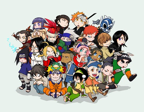Anime Mix Up 2! Naruto, Avatar, Bleach, Death note, FMA... ftw!!