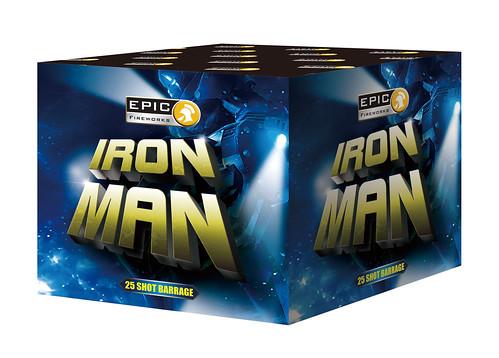 iron man 25 shot barrage