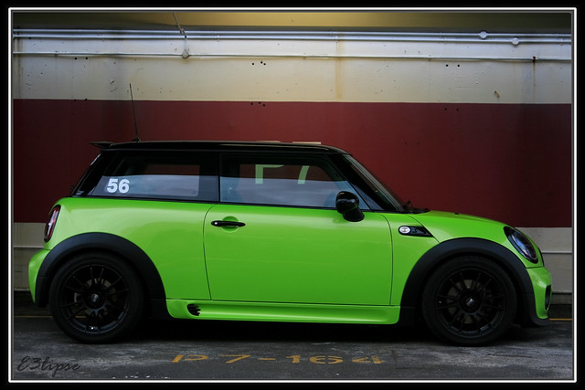 Lime Green Mini Cooper S R56 Flickr Photo Sharing