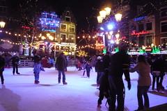 Ice Skating in Leidseplein