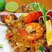 Peruvian food: Chaufa de mariscos