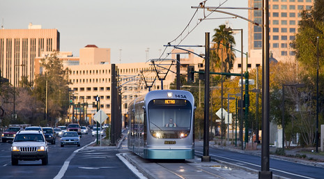 ASU has dropped shuttle service in favor of the light rail