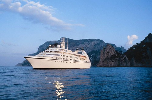 Seabourn Spirit at Sea by Luxury Cruise Bible