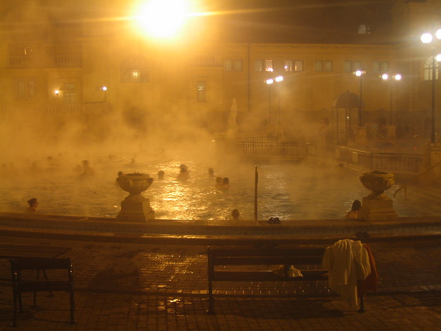 Thermal baths, Budapest