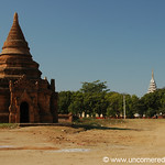 Buddhist Monk at the Pagoda - Bagan, Burma
