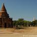 Buddhist Monk at the Pagoda - Bagan, Burma