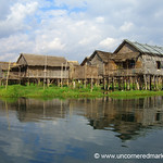 Houses on Water - Inle Lake, Burma