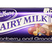 Dairy Milk: Cranberry and Granola - the wrapper