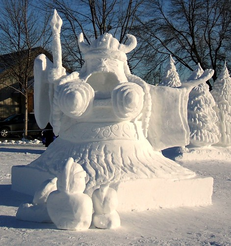Winter Carnival - Snow Sculptures