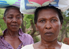 Women from Market in Madagascar