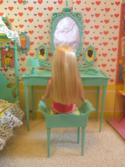 Turquoise Barbie House: Flickr - Photo Sharing