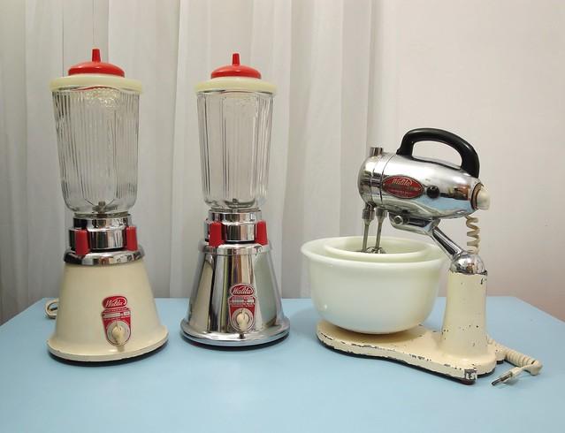 1949 Walita blenders and 1950 Walita stand mixer