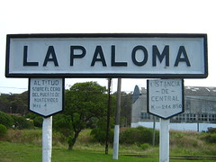 La Paloma by the sea