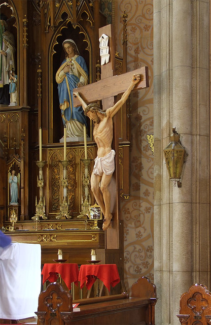 Saint John Nepomuk Chapel, in Saint Louis, Missouri - crucifix