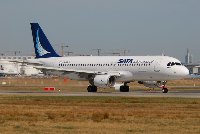 SATA International Airlines Azores http://www.flickr.com/photos/thomasbecker/2379459798/