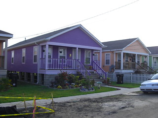 Habitat for Humanity's Musician's Village in the Lower 9th Ward