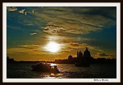 Sunset in Venice ,Italia.