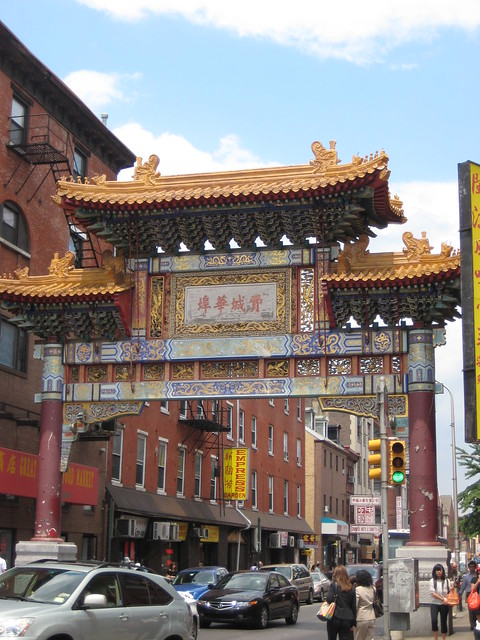 Philadelphias Chinatown Arch  Flickr - Photo Sharing!